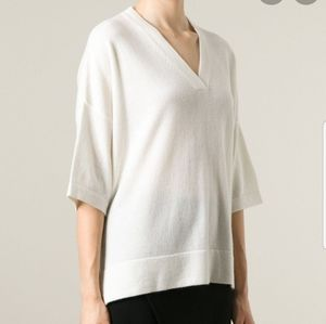 Vince V Neck loose fit cashmere sweater XXS